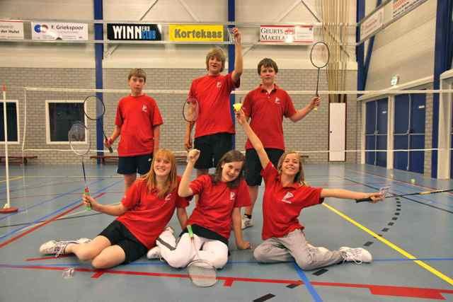 Jeugd Team 3 kampioen mei 2011