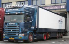 Sponsor Erik Hoek Transport